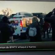 Top Média : des journalistes de BFMTV attaqués par des manifestants à Nantes