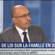 BFM Story: Le gouvernement ne présentera pas de projet de loi sur la famille en 2014