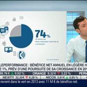 Teleperformance prévoit une poursuite de sa croissance en 2014: Olivier Rigaudy, dans Intégrale Bourse