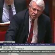 Valls attaque Goasguen, les députés UMP quittent l'Assemblée