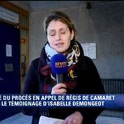 Camaret jugé en appel: témoignage bouleversant d'Isabelle Demongeot