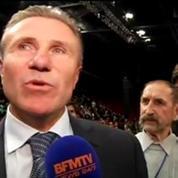 Saut à la perche: Sergueï Bubka félicite Renaud Lavillenie