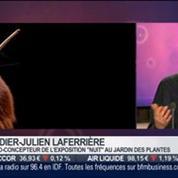 La sortie du jour: Didier-Julien Laferrière, commissaire del'exposition Nuit au Jardin des Plantes, dans Paris est à vous –