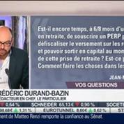 Les réponses de Frédéric Durand-Bazin aux auditeurs, dans Intégrale Placements – 1/2