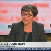 Valérie Fourneyron, ministre des Sports, dans Le Grand Journal – 4/4