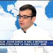 A 25 ans, Oscar Garcia devient le plus jeune chef étoilé par le Guide Michelin