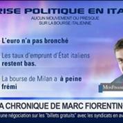 Marc Fiorentino: Crise italienne: Aucune réactions des marchés