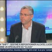 Plan Shift: Alcatel a cinq semestres pour gagner, Michel Combes, dans GMB