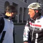 08-02 / Il parcourt Courchevel-Sotchi ... à vélo !