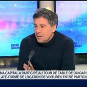 Ouicar: La location de voitures entre particuliers, Marc Simoncini, dans GMB