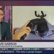 Made in Paris: David et Olivier Gabison, SteamOne, dans Paris est à vous –