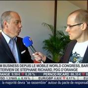 Les nouveautés du secteur de la téléphonie mobile: Stéphane Richard, dans Intégrale Bourse –
