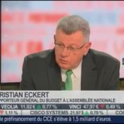 Christian Eckert, rapporteur général du budget à l'Assemblée nationale, dans Le Grand Journal – 1/4
