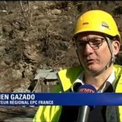 Opérations de déblayement à Isola après le drame du week-end