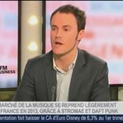 Guillaume Leblanc, directeur général du Syndicat national de l'édition phonographique, dans Le Grand Journal – 3/4