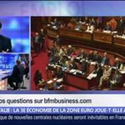 Italie: la troisième économie de la zone euro joue-t-elle avec le feu ?, dans Les Décodeurs de l'éco 4/5