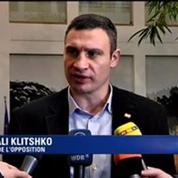 Ukraine: les leaders de l'opposition appellent à arrêter le bain de sang