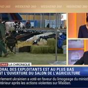 L'Éco du soir: Salon de l'agriculture 2014: le moral des agriculteurs est au plus bas