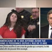 Le Soir BFM: Aux États-Unis, une jeune femme de 19 ans, accusée d'un meurtre, affirme avoir commis 22 homicides 2/6