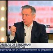 Stanislas de Bentzman, président de CroissancePlus, dans Le Grand Journal – 2/4