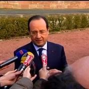 Hollande : «Nous devons être du côté de ceux qui demandent la liberté et le vote en Ukraine»