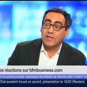 François Hollande se rend-il dans un État voyou en allant chez Google ?, dans Les Décodeurs de l'éco 5/5