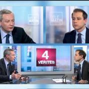Le Maire demande à Valls de ne pas jouer au premier ministre
