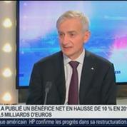Résultats d'entreprises: Le bénéfice net d'Axa en hausse, Denis Duverne, dans GMB