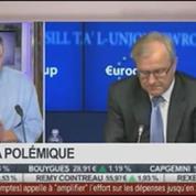Nicolas Doze: Olli Rehn incite la France à mettre en oeuvre les réformes promises