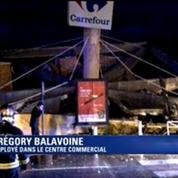 Nice: un pan de toiture d'un Carrefour s'effondre et fait 4 blessés