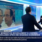 Politique Première: François Hollande inaugure un mémorial à la Grande mosquée de Paris