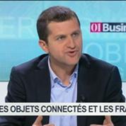 Les objets connectés vus par les Français: Gaël Sliman, Bruno Vanryb et Alexis Normand, dans 01Business – 3/4