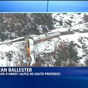 Un train déraille dans les Alpes-de-Haute-Provence: les passagers évacués