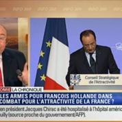L'Éco du soir: l'attractivité de la France: Hollande appelle les grands patrons étrangers