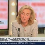 Isabelle Falque-Pierrotin, présidente de la Commission nationale de l'informatique et des libertés, dans Le Grand Journal – 4/4