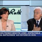 Lionel Jospin: l'invité de Ruth Elkrief