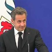 Nicolas Sarkozy adresse ses voeux de rétablissement à Jacques Chirac