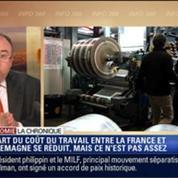 L'Éco du soir: Coût du travail: la France réduit l'écart avec l'Allemagne