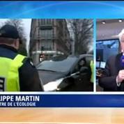 Circulation alternée: Philippe Martin salue le sens civique des Franciliens