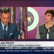 Le Paris d'Alain Prost, Maison Lejaby, dans Paris est à vous –