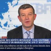 L'Édito éco de Nicolas Doze: La Caisse des dépôts intervient pour soutenir un rapprochement entre SFR et Bouygues