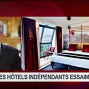 Les hôtels indépendants essaiment, dans Goûts de luxe Paris 6/8