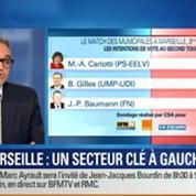 BFM Story: Municipales à Marseille: Marie-Arlette Carlotti, candidate PS, est en tête au second tour dans les IVème et Vème arrondissements selon un sondage CSA