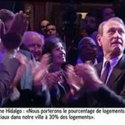 Delanoë en larmes au meeting d'Anne Hidalgo