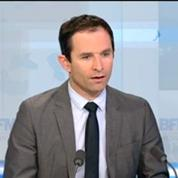 Ecoutes de Nicolas Sarkozy: Benoît Hamon s'en tient aux déclarations de Christiane Taubira