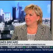 Agnès Bricard, présidente de la Fédération Femmes Administrateurs, dans l'invité de BFM Business –