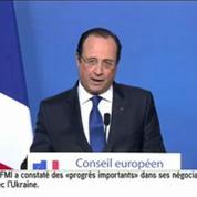 Hollande : «Toute comparaison avec des dictatures est insupportable»