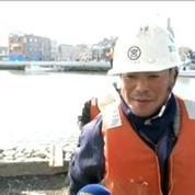 Tsunami au Japon: trois ans après, les dégâts sont toujours visibles