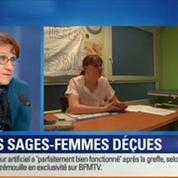 BFM Story:Un nouveau statut médical pour les sages-femmes:Marisol Touraine n'a pas répondu à notre revendication, Sophie Guillaume