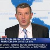 L'Édito éco de Nicolas Doze: Bouygues Telecom pactise avec Free pour racheter SFR